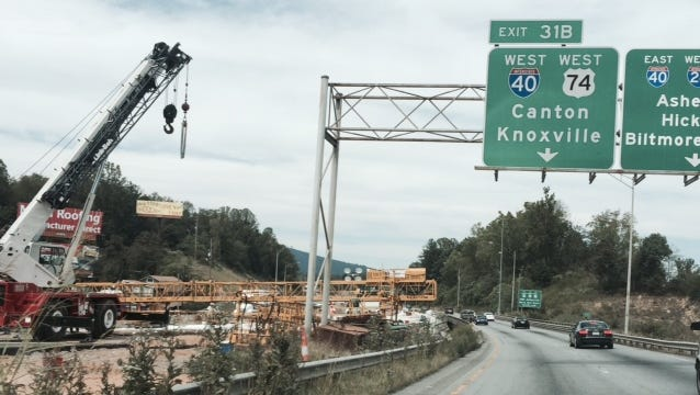 "Bridge work at ""malfunction junction"" should be finished about a year from now."