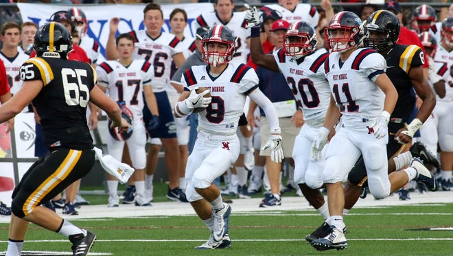 West Monroe's Taylor Young had a 55-yard punt return in early action Saturday night at the BayouJamb held at ULM's Malone Stadium in Monroe.