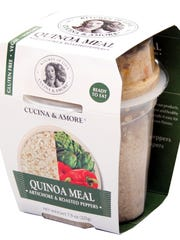 Cucina & Amore quinoa meal kits that don't require