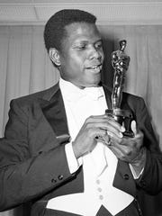 "Sidney Poitier was the first Black man to win an Oscar, for his role in 1964's ""Lillies of the Field."""