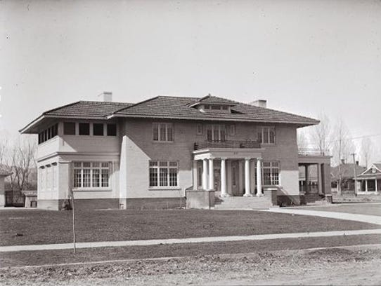 The Forney Mansion, at 309 S. Grant Ave., was the longtime