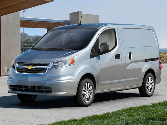 Nissan is building this small van for Chevrolet, which will sell it as the City Express starting this fall as a rival to Ford's successful Transit Connect. It will be made at a Nissan factory in Mexico. Chevy will give the first public peek at the Chicago auto show.