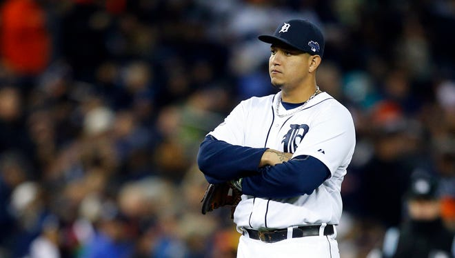 Miguel Cabrera and the Tigers on the brink of elimination.