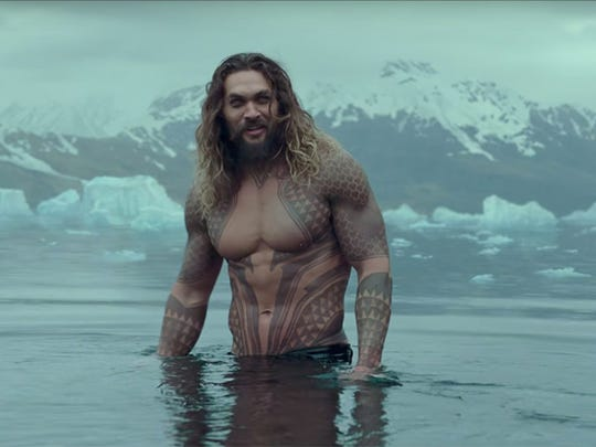 Norwalk-raised Jason Momoa stars as Author Curry in 'Aquaman,' a DC superhero film set for wide release Dec. 21.