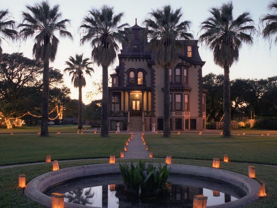 The Fulton Mansion is a popular tourist destination