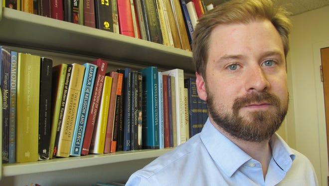 Doug Jones, visiting professor of religious studies, co-directs the religious studies program at Binghamton University. Ignoring the enormous impact of religion on society is not an option, he said.