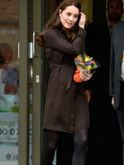 e5907a4a13 Duchess Kate at the Fostering Network child-care charity