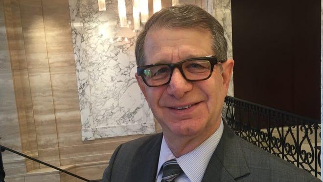 Stuart Hoffman spoke at the Detroit Economic Club Tuesday.