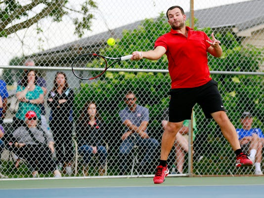 York City-County Tennis Tournament singles finals