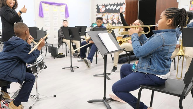 Students from SCCPSS participated in Jazz Academy last year. This year's version will be virtual.