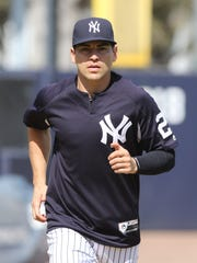 Yankees workout this afternoon. Jacoby Ellsbury runs