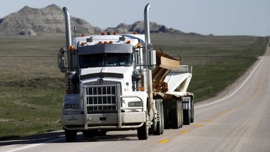 The speed of trucks, buses and other large vehicles could be restricted under a proposal being considered by federal regulators.