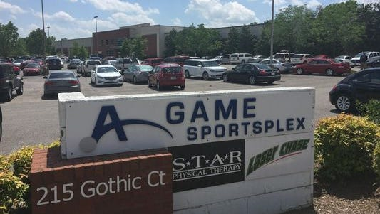 The A-Game Sportsplex in Franklin.