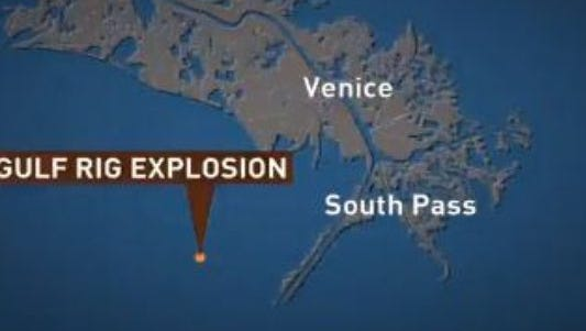Gulf of Mexico rig explosion