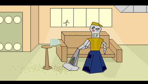"""""""Humorous Vacuum Robot"""" is now available to be viewed"""