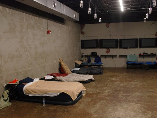 Out-of-town volunteers have a place to lay their heads