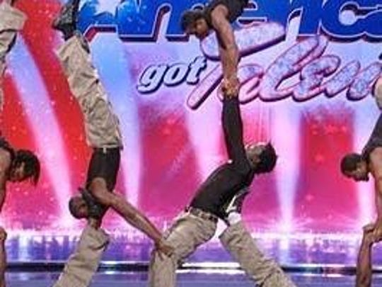 The Zuzu Acrobats perform on America's Got Talent.
