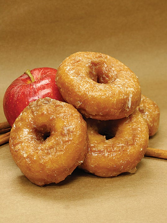 Roth's apple cider donuts (Photo: Courtesy of Roth's)