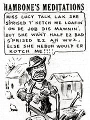 "Increasingly frustrated with the coverage of the strike, African-American ministers called for a boycott of the CA and the Press-Scimitar. They also voiced outrage at the CA's continuing publication of ""Hambone's Meditations."" In the daily cartoon, Hambone used exaggerated black dialect."