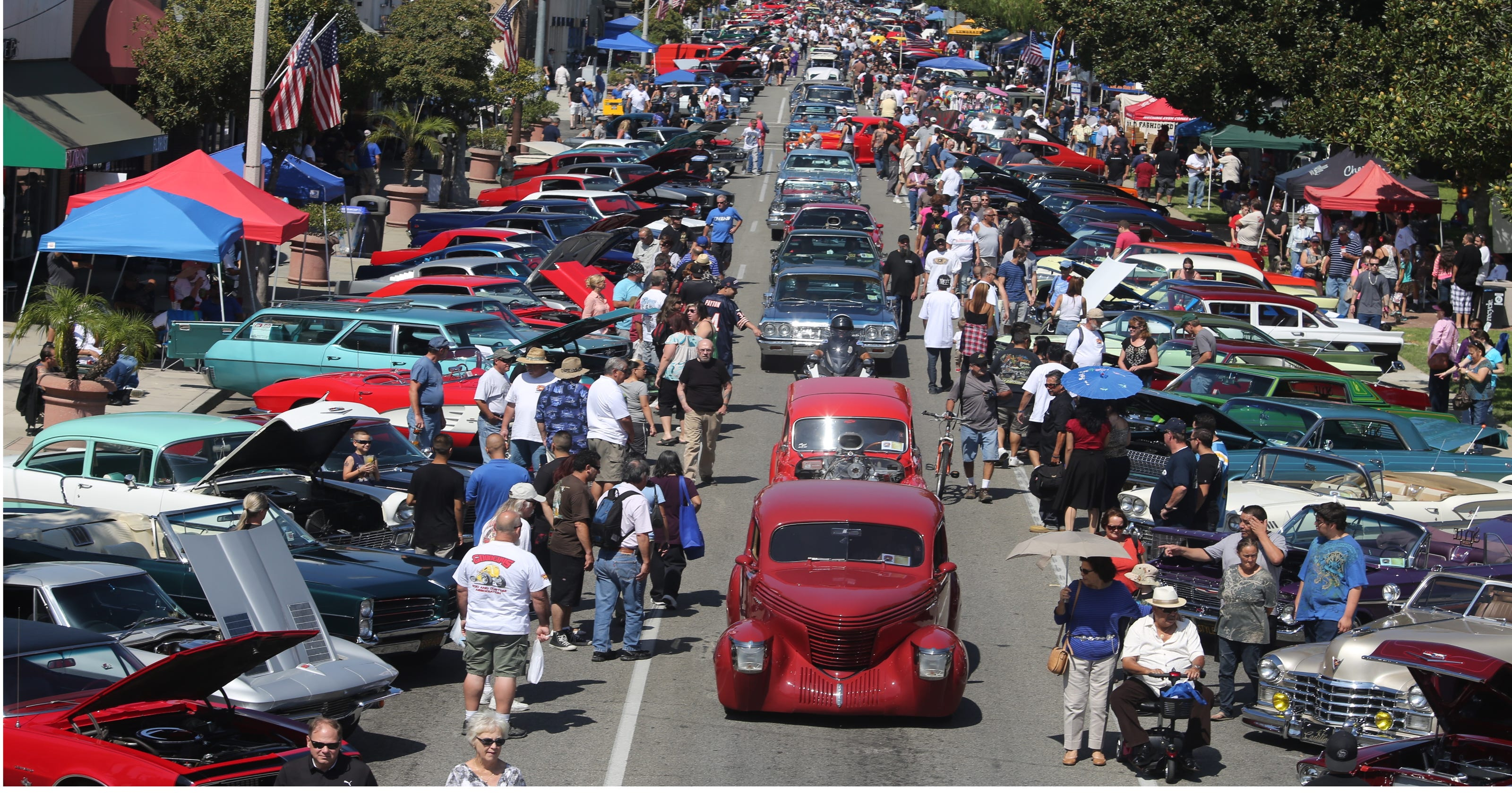 Route Car Show Begins Today In California - Route 66 car show