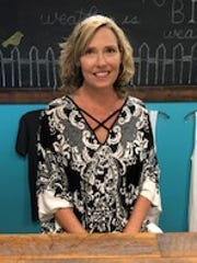 Clementine's Consignment Boutique's owner Heather Sullivan