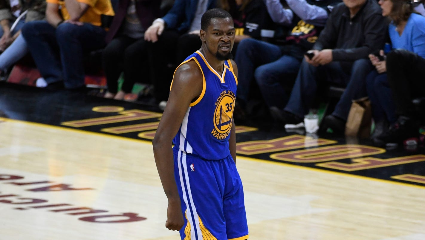 NBA Finals: Kevin Durant, Warriors stun Cavaliers for Game 3 victory