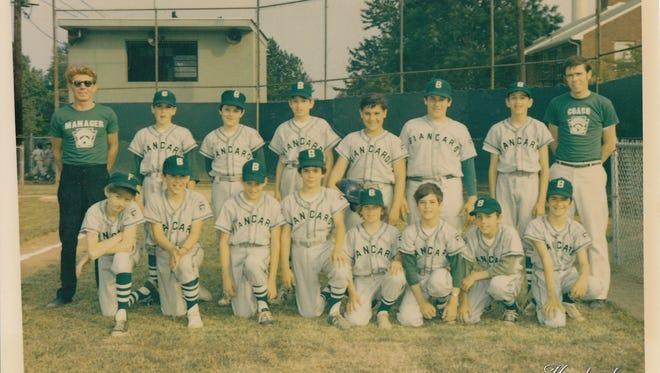 The 1971 Biancardi Little League Baseball team in Belleville.