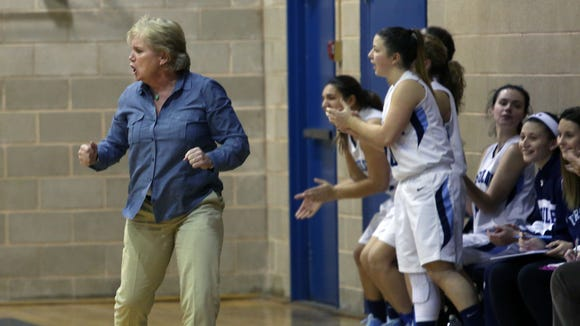Ursuline defeated New Rochelle 53-46 in a girls basketball