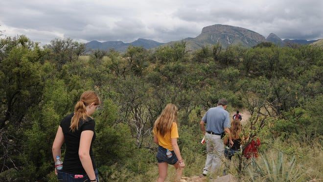 This scenic, 2.5-mile route winds through Kartchner Caverns State Park