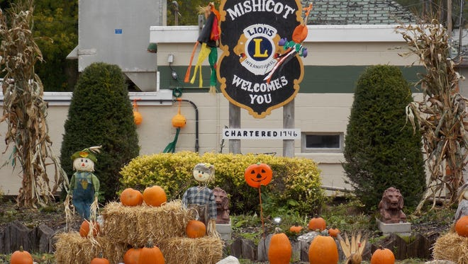 File - Mishicot will be filled with pumpkins like these on the corner of Main and Washington streets during the village's annual Pumpkinfest celebration.