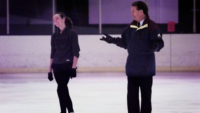 Former Olympic figure skating coach Richard Callaghan was suspended this past week by U.S. Figure Skating.
