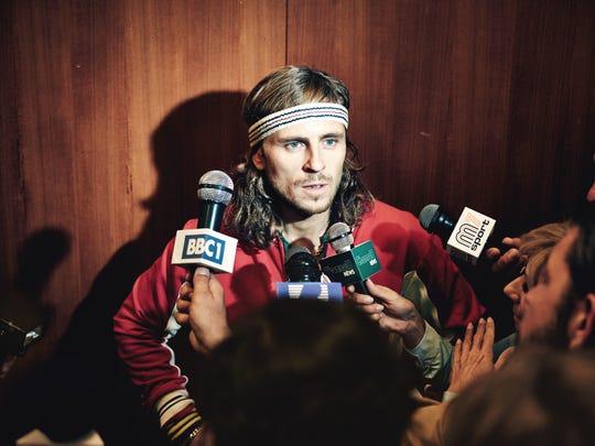 """In """"Borg vs McEnroe,"""" Sverrir Gudnason stars as Bjorn"""