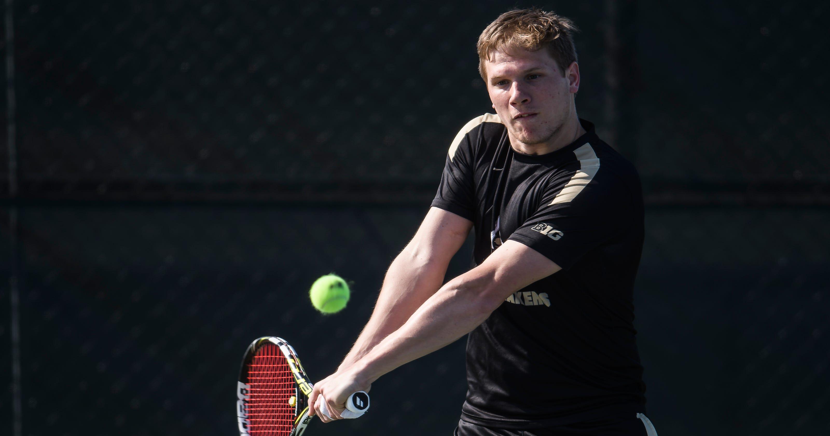 Men's tennis duo earns All-Big Ten honors