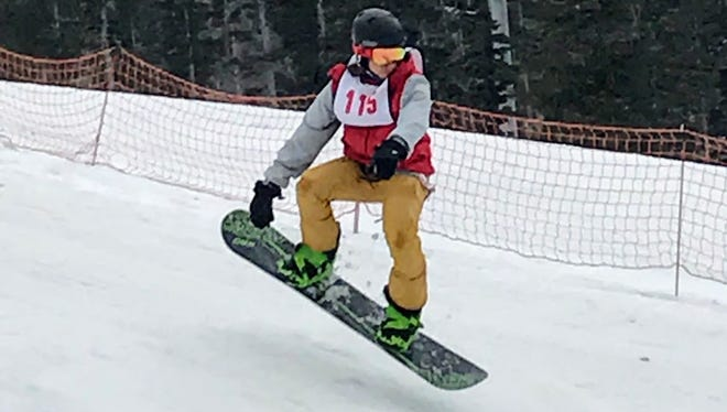 Ski Apache hosted its final Terrain Park Competition of the year Saturday.