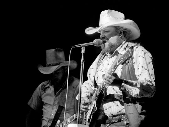 Charlie Daniels performs during the debut of the Charlie