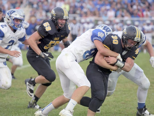 Cole Heinlen returns after his All-TF Defensive player