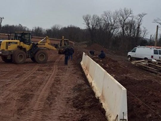 Track improvements continue at Susquehanna Speedway.