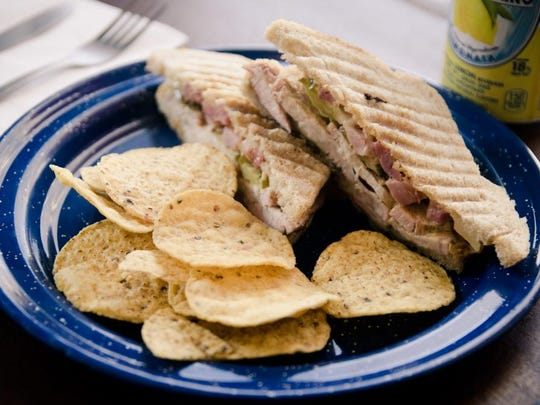The Cuban panini at Tiger Bay in West Asheville.
