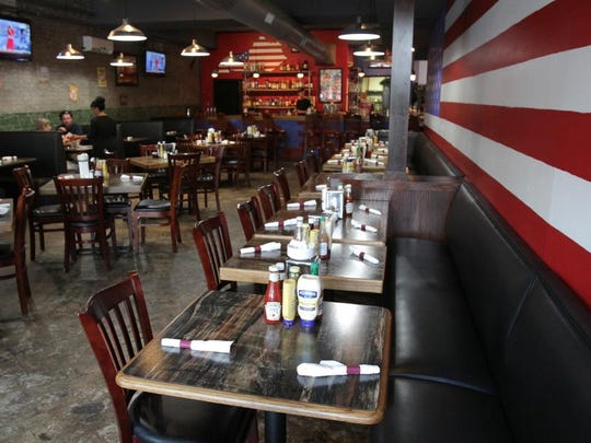 Interior shot of the America. The Diner. at 962 Baxter Ave.