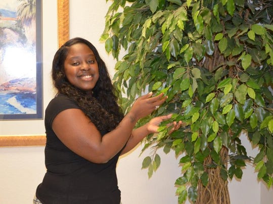 Kim Addison is a caregiver for geriatric patients who wants to be a nurse.