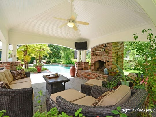 6020 Creswell Ave. offers many indoor and outdoor entertaining