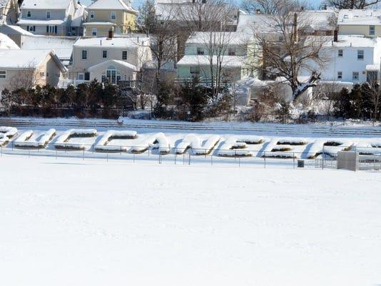 Belleville logo snow
