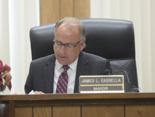 East Rutherford Mayor James Cassella.