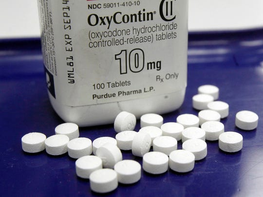 OxyContin is among the prescription opioids that have