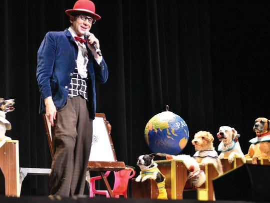 Popovich Comedy Pet Theater is a family-oriented blend of the unique comedy and juggling skills of Gregory Popovich. He will perform on March 17 at New Jersey Performing Arts Center.