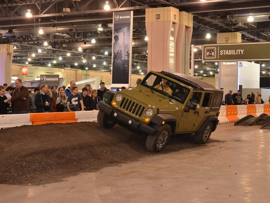 The Philadelphia Auto Show runs through Sunday, Feb.