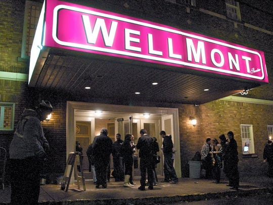 The Wellmont Theater in Montclair.