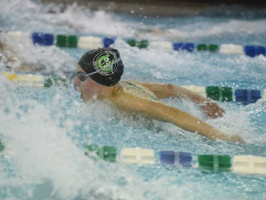 Kelsey Thompson and the Kinnelon High School girls' swim team returns to the state sectional finals after just missing out last year. The Colts defeated Indian Hills in Monday's semifinals and face rivals Mountain Lakes in Thursday's North 1 Group C finals.