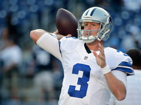 Romo Sits Weeden Starts For Cowboys Against Cards