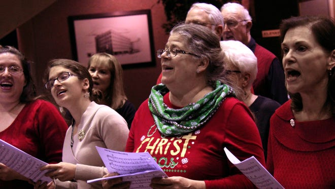 Celebration Singers will stage its annual holiday show Friday evening at the Paramount Theatre.
